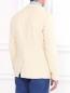 Пиджак из фактурного хлопка Armani Jeans  –  Модель Верх-Низ1