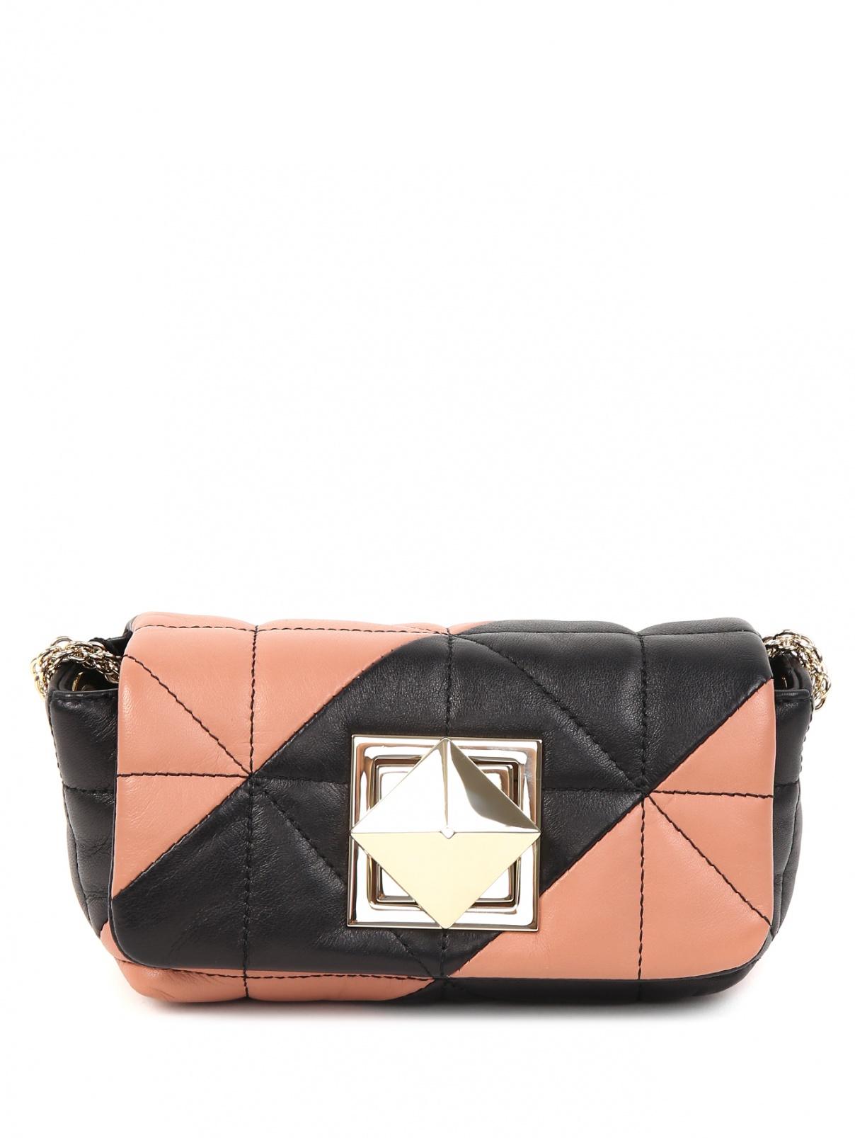 Стеганая сумка из кожи на цепочке Sonia Rykiel  –  Общий вид
