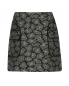 Юбка-мини из хлопка с узором Marc by Marc Jacobs  –  Общий вид