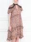 Платье с цветочным узором Elliatt  –  МодельВерхНиз