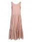 Платье из хлопка и шелка Max Mara  –  Общий вид