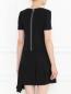Платье-мини из шерсти с декоративной молнией Marc by Marc Jacobs  –  Модель Верх-Низ1