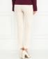 Укороченные брюки из шерсти Moschino Cheap&Chic  –  Модель Верх-Низ1