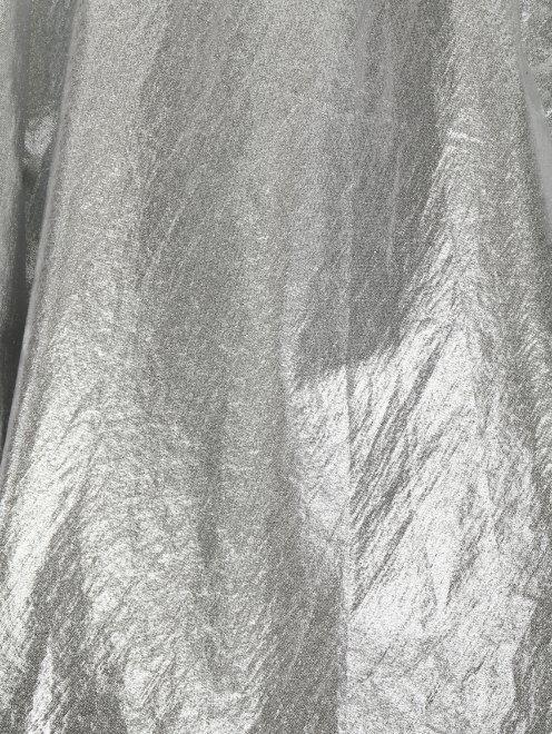 Юбка из хлопка с декоративным бантом - Деталь
