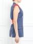 Жилет из шерсти с контрастной отделкой Sonia Rykiel  –  Модель Верх-Низ2