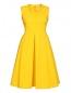 Платье из хлопка с драпировкой S Max Mara  –  Общий вид