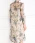 Платье из шелка с цветочным узором Charlotte Bialas  –  Модель Верх-Низ1