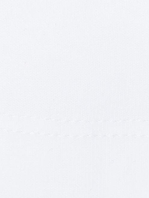 Лонгслив хлопковый с принтом - Деталь1
