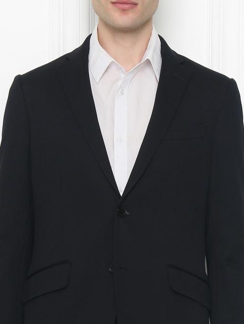 Пиджак из хлопка - МодельОбщийВид1