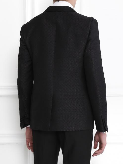 Пиджак с узором - Модель Верх-Низ1