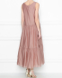 Платье из хлопка и шелка Max Mara  –  МодельВерхНиз1