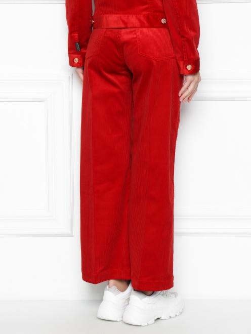 Вельветовые брюки  - МодельВерхНиз1