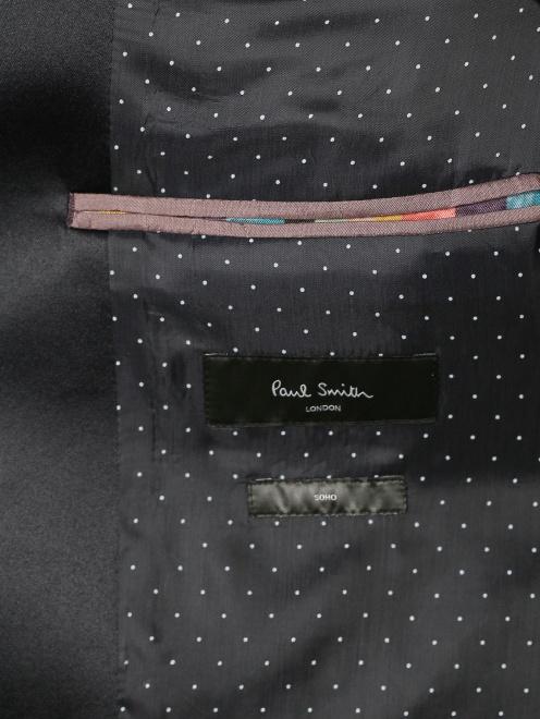Пиджак однобортный из шерсти - Деталь2