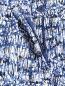 Укороченные брюки из хлопка с узором Marina Rinaldi  –  Деталь1