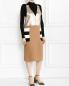 Платье из фактурной шерсти декорированное пайетками Max Mara  –  Модель Общий вид
