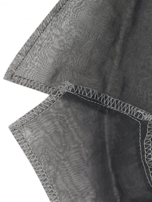Жакет с вышивкой и карманами - Деталь1