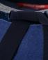 Джемпер прямого кроя с контрастной отделкой горловины Marina Rinaldi  –  Деталь