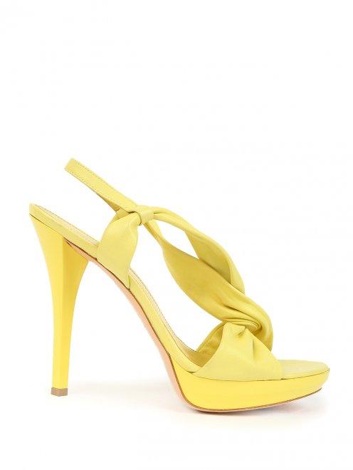 Босоножки на высоком каблуке - Обтравка1