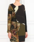 Платье из смешанной шерсти с защипом Isola Marras  –  Модель Верх-Низ
