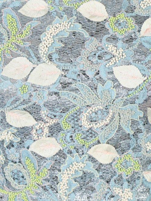 Платье-макси из кружева с декоративной аппликацией - Деталь1