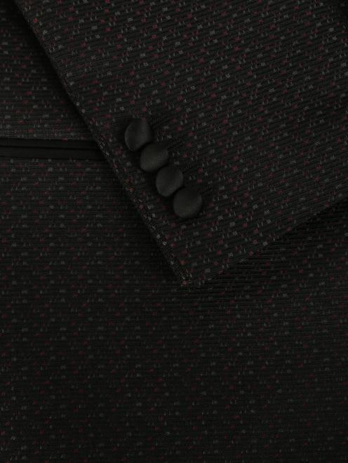 Пиджак с узором - Деталь