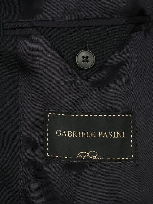 Пиджак двубортный из шерсти - Деталь2