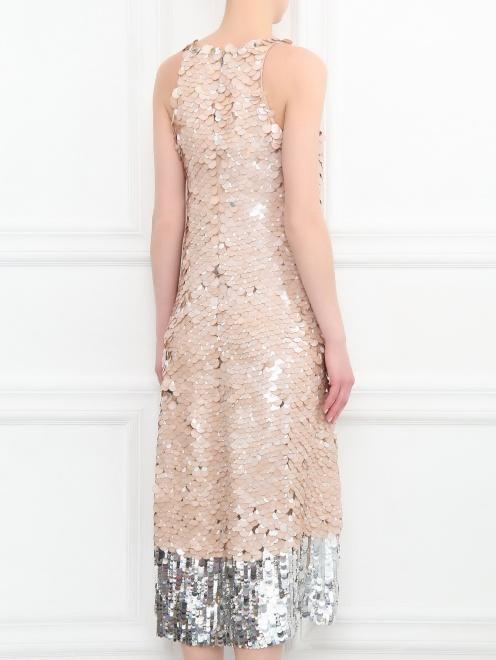 Платье декорированное пайетками - МодельВерхНиз1