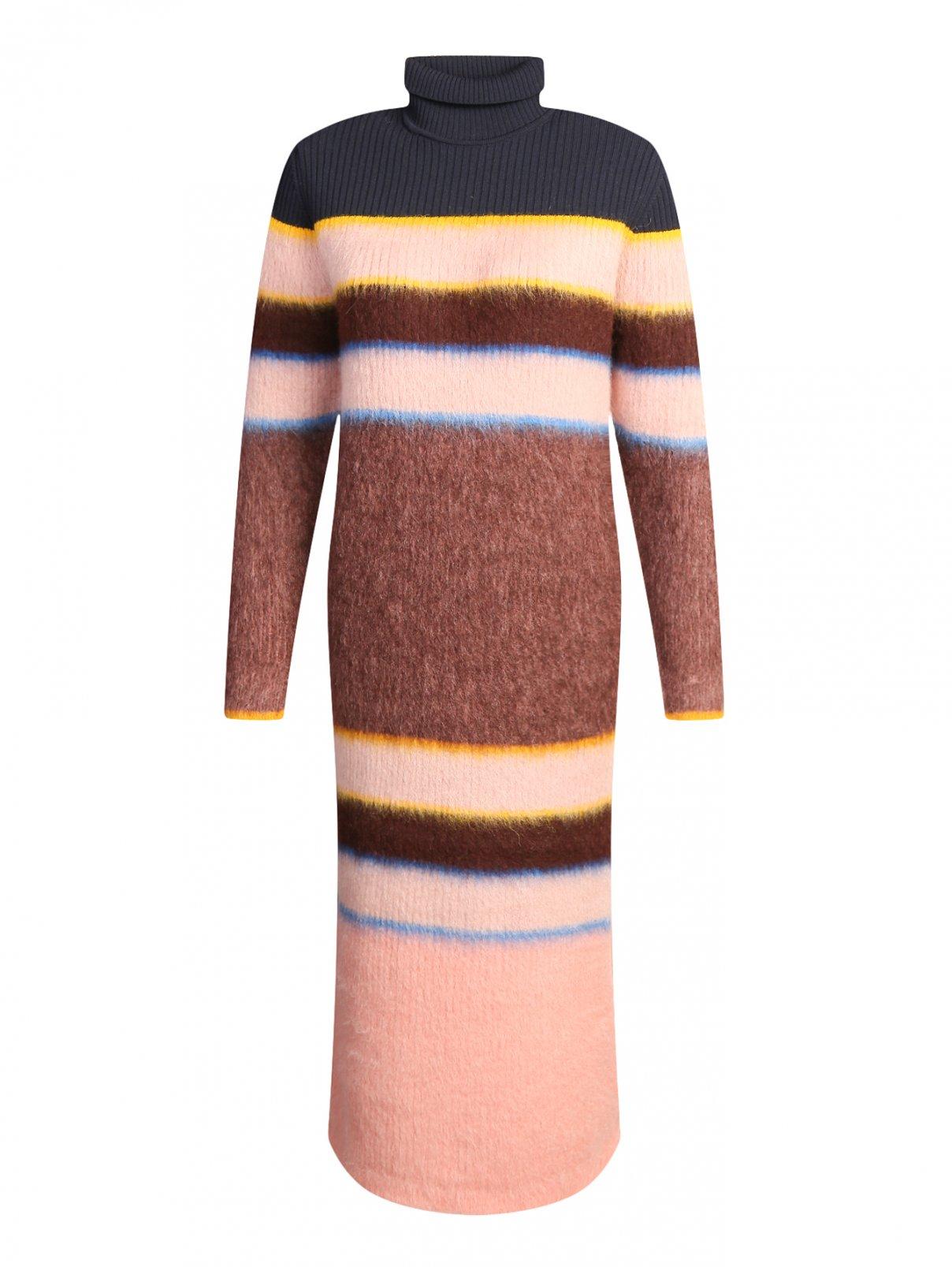 Платье из мохера и альпаки с боковым разрезом Sportmax  –  Общий вид