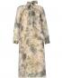 Платье из шелка с цветочным узором Charlotte Bialas  –  Общий вид