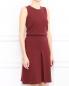 Платье-мини из хлопка без рукавов Jil Sander  –  Модель Верх-Низ