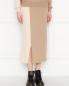 Комплект трикотажный из юбки и джемпера, шерстяной Max&Co  –  МодельВерхНиз
