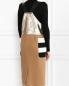 Платье из фактурной шерсти декорированное пайетками Max Mara  –  Модель Верх-Низ1