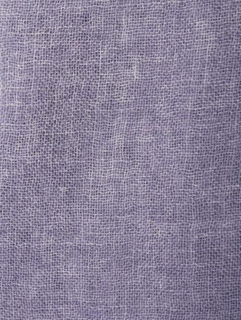 Шарф из кашемира с бахромой  - Общий вид