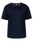 Блуза из денима декорированная бусинами N21  –  Общий вид