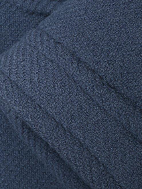 Пальто из шерсти с накладными карманами - Деталь1