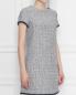 Платье-футляр из фактурного хлопка Weekend Max Mara  –  МодельВерхНиз
