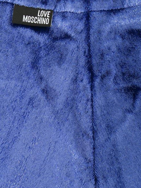 Юбка-миди из фактурной ткани - Деталь1