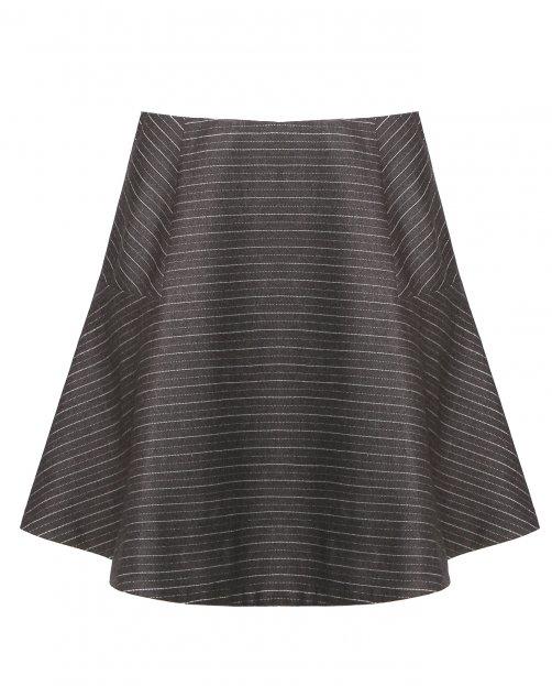 Расклешенная мини-юбка - Общий вид
