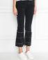 Укороченные джинсы с металлической фурнитурой M.i.h Jeans  –  МодельВерхНиз