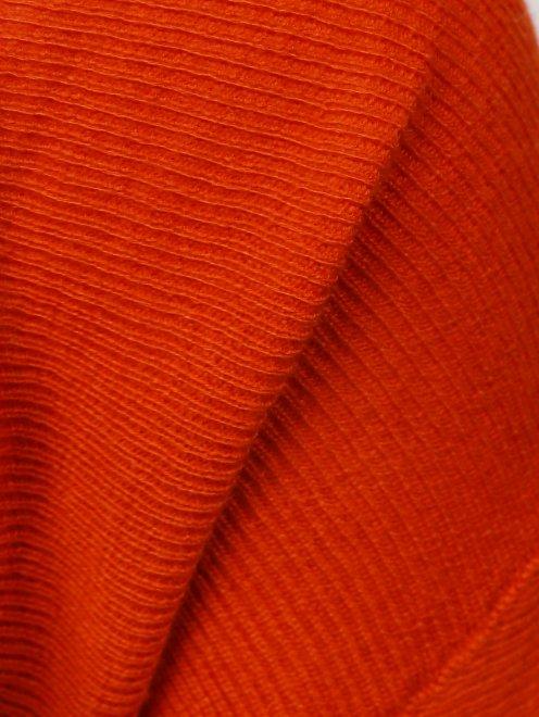 Болеро из шелка и кашемира с длинными рукавами - Деталь