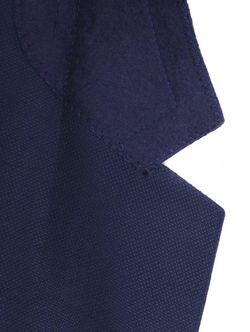 Пиджак однобортный из шерсти  - Деталь1